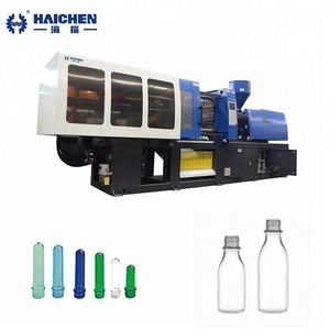 Automatic new type horizontal making machine bottle 38mm pet preform