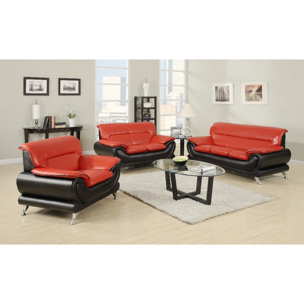 Modern Leather Section 2 Seater Children Living Room Sofa Furniture