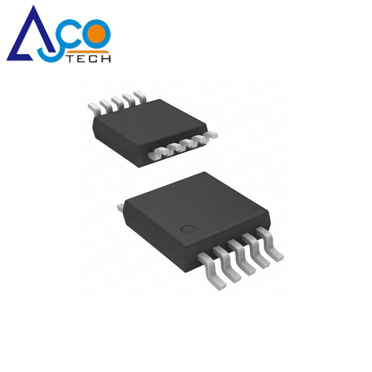 Low cost ADC124S101CIMM/NOPB 4 Channel, 500 ksps to 1 Msps, 12-Bit A/D Converter for Instrumentation and Control Systems