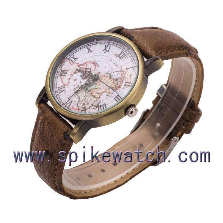 Wholesalers China stainless steel back waterproof vintage stylish men hand watch