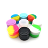 Hot Selling FDA Reusable Round Wax Storage Silicone Cosmetic Container
