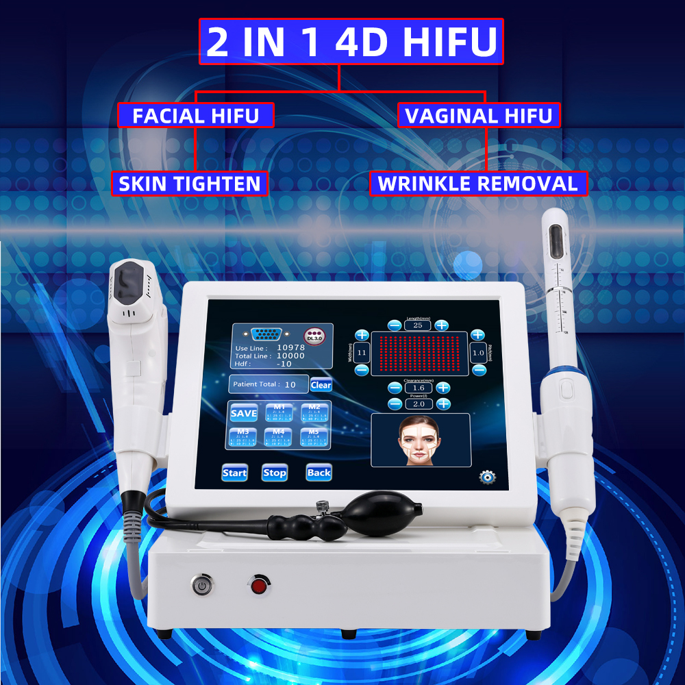 Magic Plus Newest 4D Hifu Vaginal Tightening Machine with 12 Lines