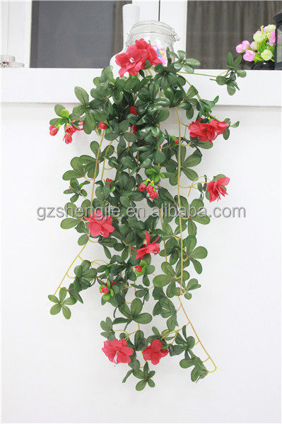 2014 new design plastic ivy decoration artificial hanging vines