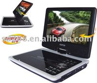 7 inch Portable DVD player with Game,Mp4,TV,AV,Usb
