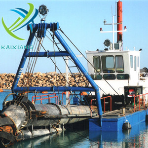 Kaixiang Professional Hydraulic River Sand CSD350 Dredger for Sale