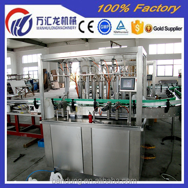 Small Manufacturer Business Coconut Oil Filling Machinery Price for Sales with No Leakage