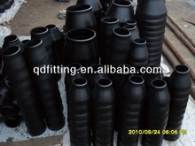 black steel bw ecc sch40 large pipe reducer/taper pipe