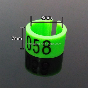 8mm 12mm 15mm 20mm 25mm plastic pigeon bird pet fowl id poultry number  identification leg foot tag band ring