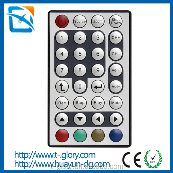 Consumer electronics products IR Remote 32 Key RGB LED remote control