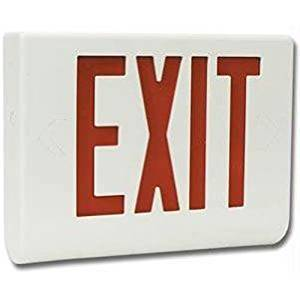 Spy-MAX Security Products DVR Exit Sign Color Hidden Camera for Covert Recording, Includes Free eBook