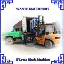 WANTE MACHINERY QT4-24 block making machine suppliers in south africa