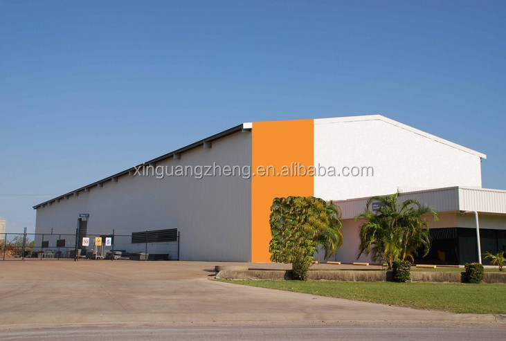 hot sale steel arch warehouse building