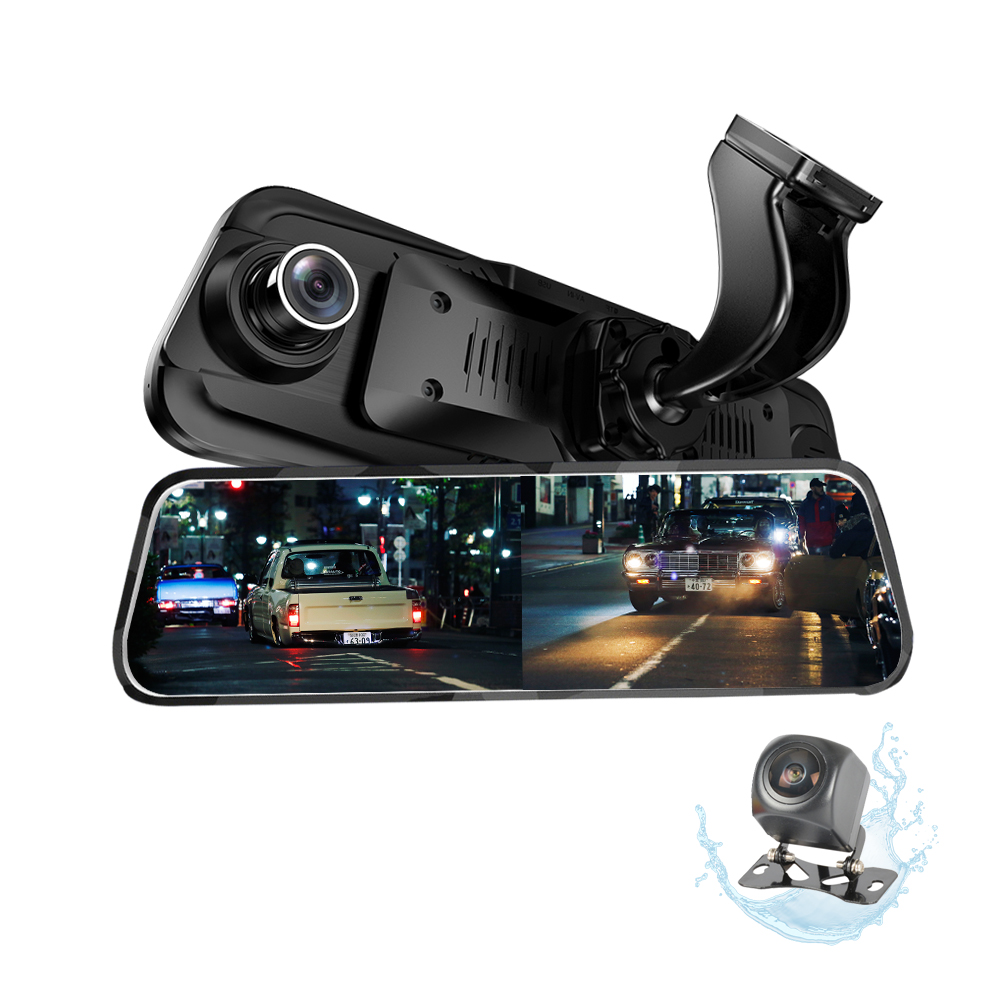 SUV auto DVR di Video Dash Cam Auto Registratore Tachigrafo Offerta OEM Touch Screen da 9.6 pollici FHD 1080 P