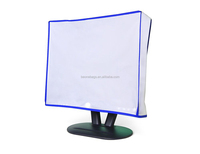 Dust and Water Resistant Smooth Vinyl Computer Monitor Dust Cover