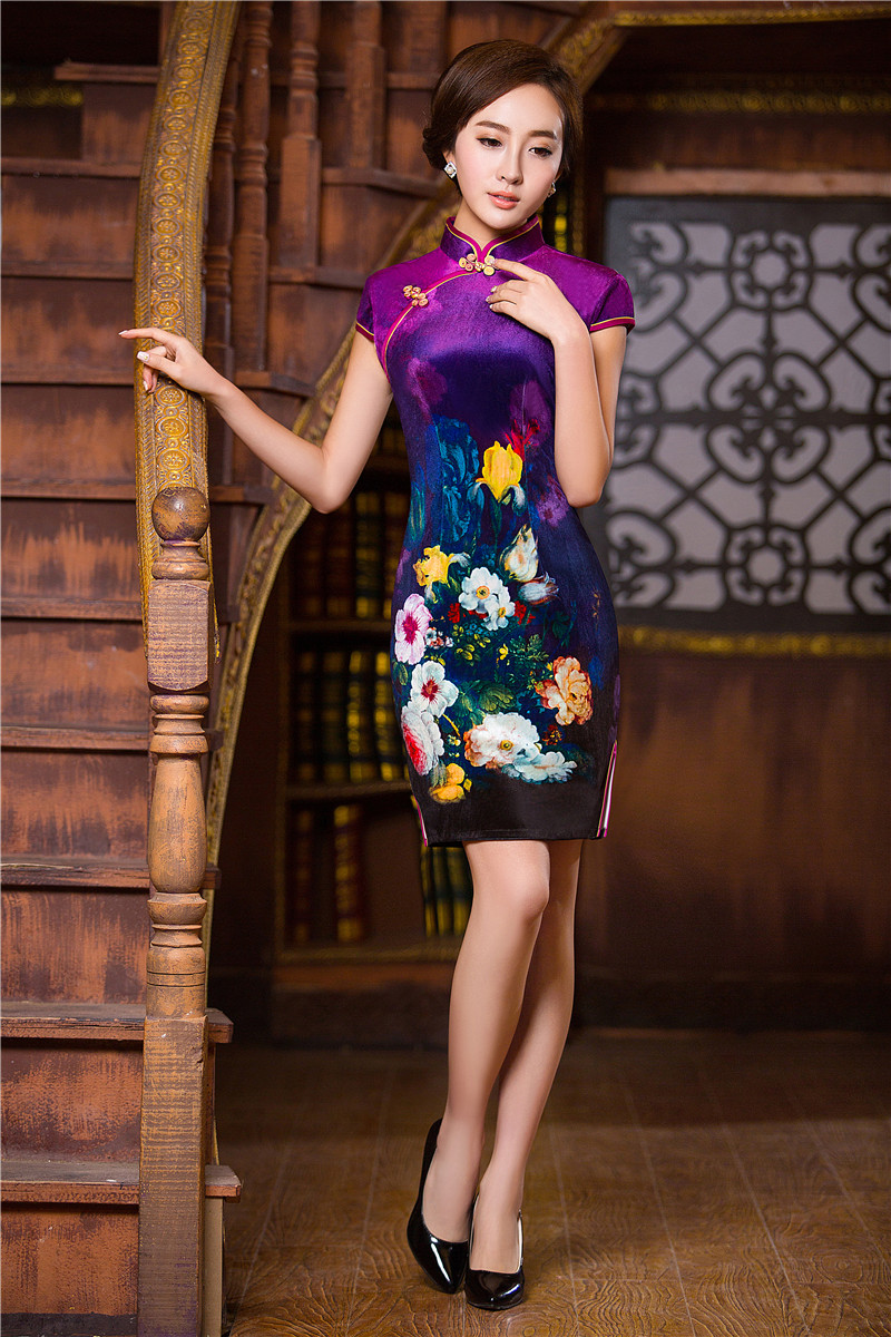 1000+ images about The ULTIMATE Chinese Dress : Chinese Cheongsam : Modern Qipao : Asian ...