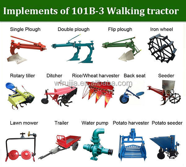 Tractor With Tools : China tractor implements for sale diesle walking tractors