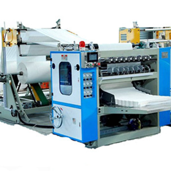 High quality Automatic Box Drawing Facial Tissue Paper Machine Price