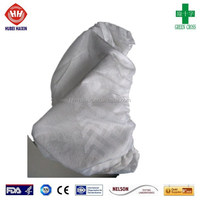 disposable FDA anti skid shoe cover non woven plastic
