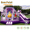 2017 new style inflatable bouncy castle with water bounce houses sale