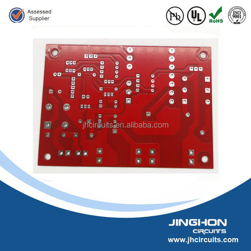China supplier of FR4 1.6mm thickness Green / RED / Yellow / Black / White solder mask and Silkscreen 1-5oz cooper weight PCB