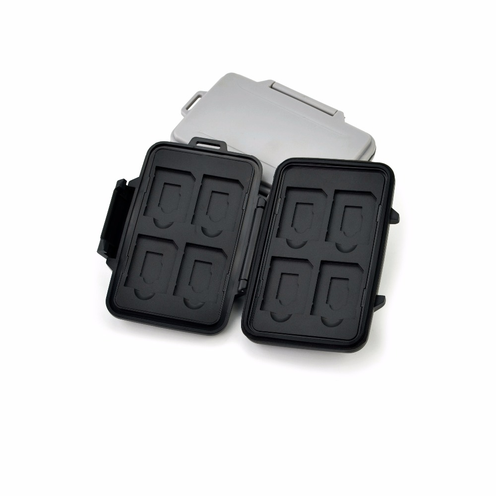 Waterproof Secure Memory Card Case Holder for SD card