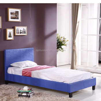 Eenpersoonsbed Te Koop.Moderne Euro Stijl Kamer Meubels Lederen Divan Bed Hot Koop