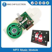 Customized postcards recordable voice modules for all kinds of postcards