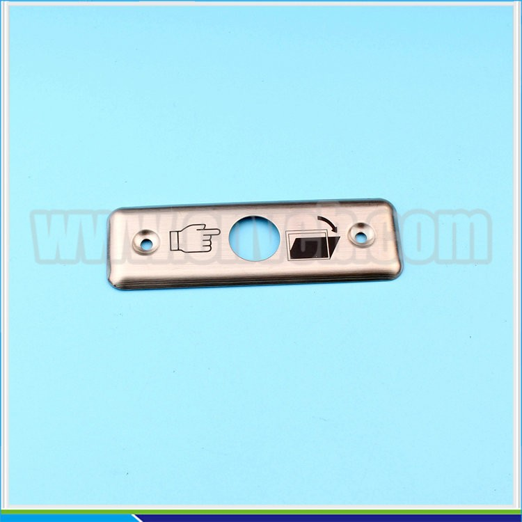 1649 16mm switch exit plate witch door switch plate