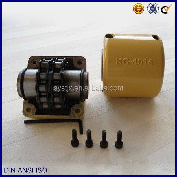 KC -4014 roller chain sprocket yellow shell coupling