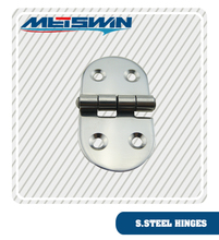 high quality stainless steel material S shape hole butt door hinge