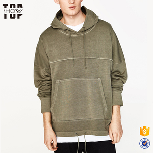 OEM hoodies manufacturer men blank streetwear hoodies sweatshirts with adjustable hem