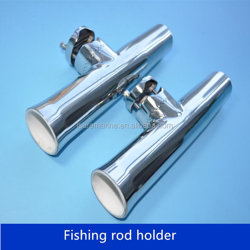 Great! 90deg Rod Holder Stainless Steel fishing Rod Holder Flush Mount NEW
