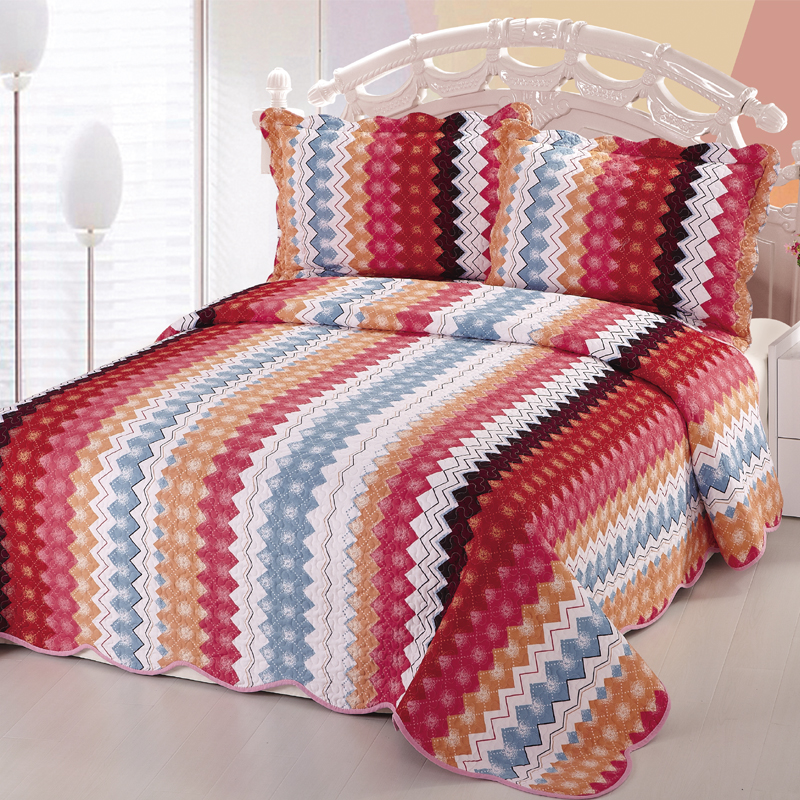 Cheap hotel fitted king size mexican bedspreads