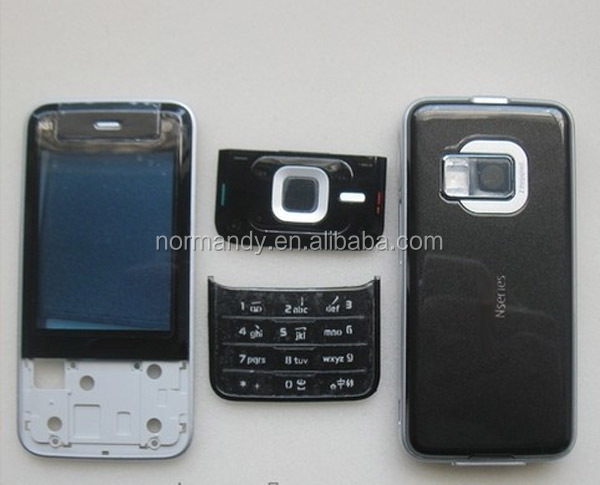 cell phone housing for nokia N81 full housing with keypad lens face cover battery door