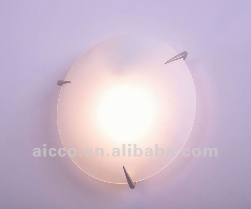 hot sell cheap price LED classic glass with metal ceiling lamp wall lamp