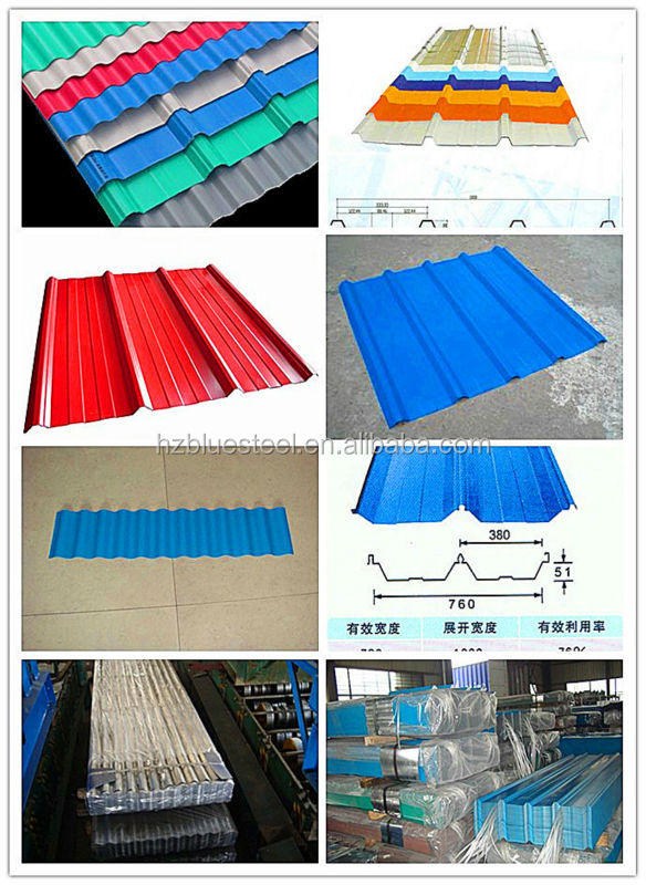 Corrugated Steel Roofing Sheet For Wholesale Good Price