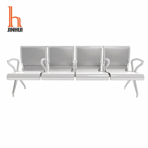 Wholesale Factory Price Metal Airport Waiting Area Seating Link Chair 4-Seater Waiting Chair