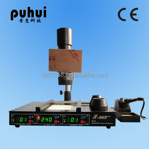 Puhui mobile phone bga rework station T862++, smd rework station, bga rework station for laptop motherboard