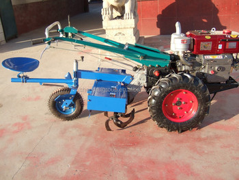 two wheel walking tractor with rotary tiller