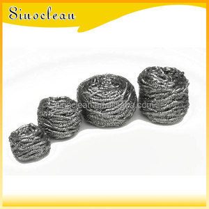 standard 410 stainless steel scrubber/scourer/cleaning ball with CE