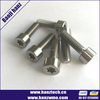 DIN912 hex Socket head titanium bolt and nut