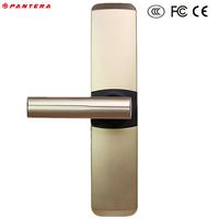 Closet Fingerprint Smart Alarm Automatic Glass Sliding Door Lock