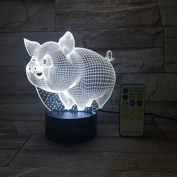 Led Animal Shape Illusion Table Lamps Home Decor Small Night Light Buy Small Night Light Table Lamps Home Decor Small Night Light Product On