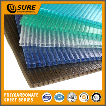 Plastic Polycarbonate Roofing Sheets Price List For Greenhouse