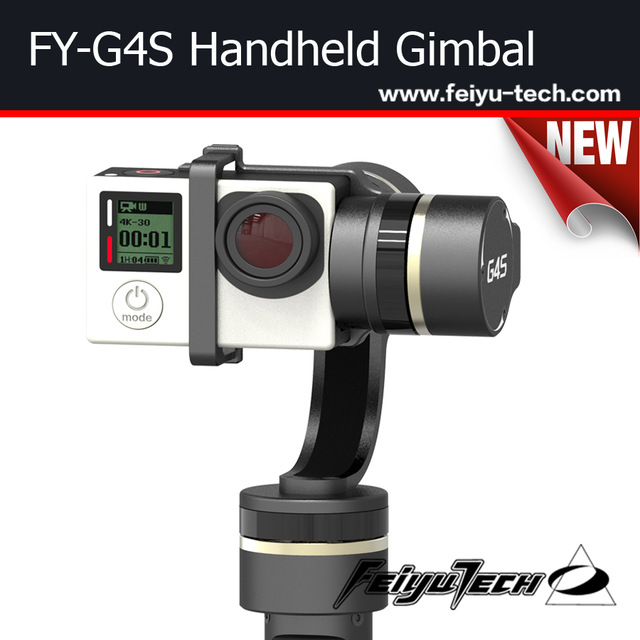High Quality for FY Brushless Gimba G3 Ultra 3-axis Handheld Gimbal Aerial for Go pro Hero3 3+ Camera