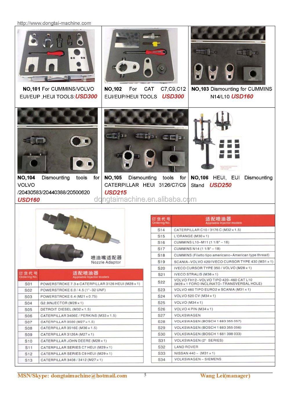 No,037 Tools For Cat 320d - Buy Common Rail Injectors Repair Tools,Bosch  Injector Tools,Common Rail Injectors Repair Tools Product on Alibaba com