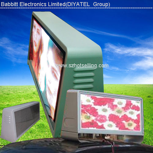 Truck Mobile Advertising Led Display Outdoor Taxi Top Roof taxi roof signs car window led signs advertising led screen