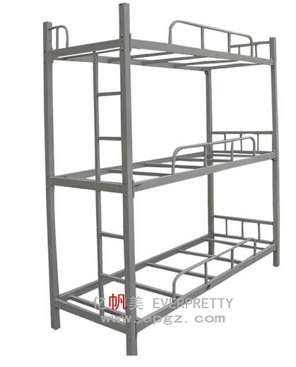 Heavy Duty Loft : Modern heavy duty adult steel triple metal loft bunk beds