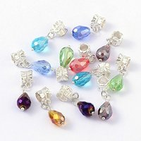Glass Drop Beads European Dangle Beads