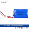 SunB103040 rechargeable li ion battery pack 7.4v 600mah